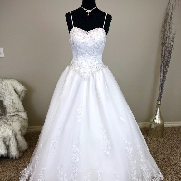 Mary's Bridal Dresses & Skirts - White Ballgown Wedding Dress